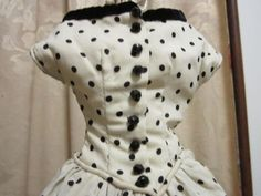 Truely Lovely Antique doll 2 pc. Ensemble, Fine Quality,  for Fashion or China