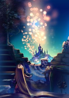 SOOO in love with this Disney painting!