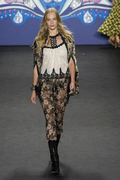 Anna Sui at New York Spring 2015