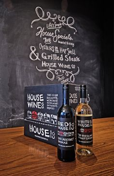 chalkboard art and signage Wine Packaging, Packaging Design, Chalkboard Typography, Chalkboard Ideas, Wine Rack Table, Chalk It Up, Chalk Art, Pub Interior, Drink Labels