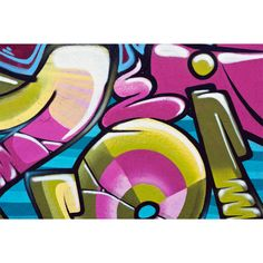 Graffiti Background 2 Wall Mural