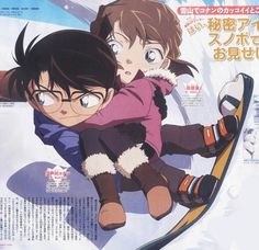 Conan X Ai // Why are they trying to make it so canon while- STOP MESSING WITH MY FEELINGS