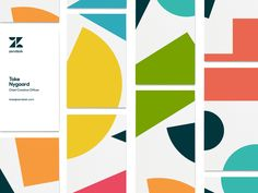 Zendesk Rebrand - Bizness Cards by Gina Meredith #Design Popular #Dribbble #shots