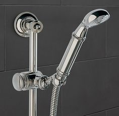 Asbury Wall-Mount Handheld Shower