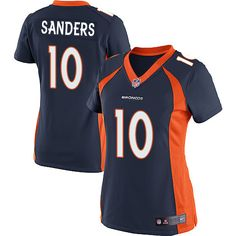Emmanuel Sanders Women s Cheap Broncos Jerseys Limited  10 Alternate Navy  Blue Nike NFL On Sale 0398fcf93