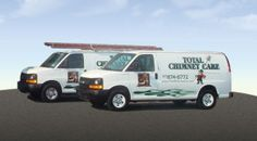 Our professional trucks are fully equipped to handle all of your chimney needs.