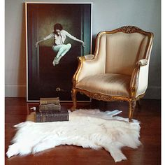 Le Souci de la Souris (Fear of the Mouse Poster), French Bedroom Company Custom Made Furniture, French Furniture, Contemporary Furniture, Furniture Making, Versailles, White Fur Rug, Le Souci, Daddy, French Bed