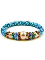 Beading Jewelry - Lavender Blue Bracelet Kit - #909246