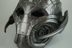 Ultron Fully Wearable Mask. Design by Stefanos Anagnostopoulos.