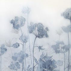 Henrik Simonsen: pale blue   oil and charcoal on canvas  100 x 70 cm  2006