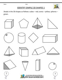 math worksheet :  s of 3d shapes worksheet  google search  std 1 classroom  : Maths Worksheet For Year 1