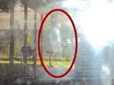 2015 - Bob passed away a few months prior to this photo. His spirit appears to be standing behind his garage and looking at his garden. From original pinner Real Ghost Pictures, Ghost Images, Ghost Photos, Creepy Pictures, Scary, Creepy Ghost, Creepy Stuff, Paranormal Pictures, Ghost Caught On Camera
