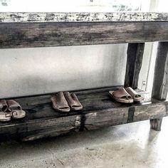 Reclaimed Australian Hardwood Furniture Built by hand with care for  ISLAND LUXE  @islandluxeofficial  #leebrennandesign #islandluxe #furniture #interiordesign #roughluxe #reclaimed #lbd #leebrennan #bangalow #byronbay #australia