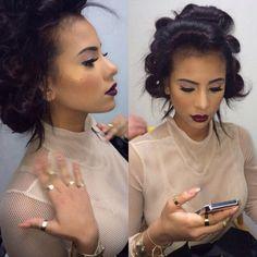 Cyn Santana makeup