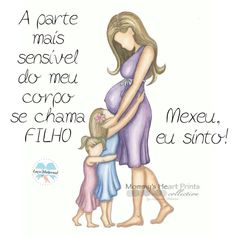 Nosso coração fora do corpo.😍 Baby Quotes, Baby Sayings, Mother Daughter Art, Small Baby, Cute Love Songs, Mothers Love, Baby Wearing, Sons, Children
