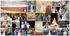 An amazing wedding day collage by Sarah Hess at Fleeting Moments Studio (Waco,TX)