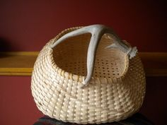 Hand woven Basket by kraimerdesigns on Etsy