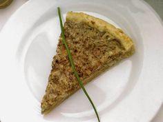 Zápisky a recepty jedné VEGETARIÁNKY: Recepty z mé kuchyně - výborný (slaný) cibulový tofu koláč