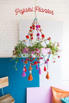 DIY Polish chandelier planter - The House That Lars Built