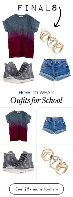 """Finals"" by beccascurls on Polyvore featuring Converse"