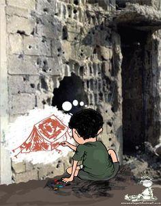 اسماعيل الأغا   جائزة الكاريكاتير العربي