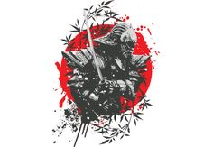 Black Samurai  Artwork