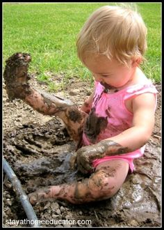 The dirt on dirt- why playing in the mud is good for kids!