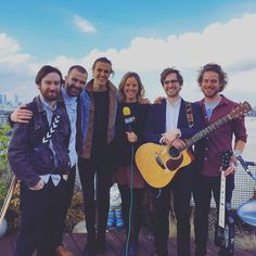 Love this photo of us on @balconytvlondon with @louisehoughton_ #BalconyTV #London #Video