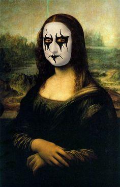 Mona Lisa Kissed! m/