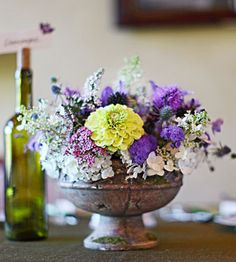 How to Arrange Flowers from our friends at Country Woman. Arrange flowers into beautiful DIY floral centerpieces with these expert tips.