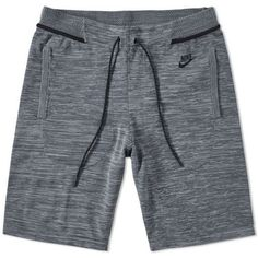 Buy the Nike Tech Knit Short in Cool Grey, Dark Grey & Black from leading mens fashion retailer END. Men's Activewear, Nike Outfits, Summer Outfits, Nike Tech, Nike Ad, Knit Shorts, Fleece Shorts, Chor, Active Wear For Women