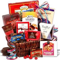 Chocolate Gift Basket Classic - Sweet Decadence  $69.99