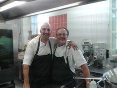 Giugno 2013 - Alla Fermata, al lavoro per un giorno con Riccardo Aiachini: bella giornata, bei ricordi, un grande amico e collega!