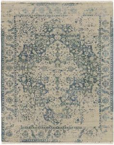 3. EMILY TO TRY OUT RUG IN SPACE DQ(HS)-101 IVORY-POWDER BLUE