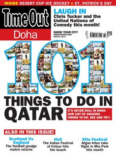Vol - 5 Issue 3 - 101 Things to do in Qatar