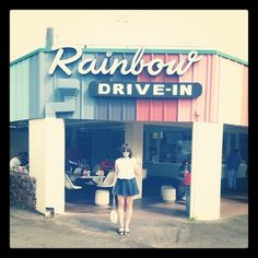 Rainbow Drive-In -- there's a reason they server 1,000+ plate lunches a day. You wont pay much while you are there....but you'll pay for it an hour later....it's the lunch that keeps giving! iconic stop and Triple D fav