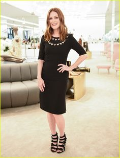 Julianne Moore Helps Unveil New Saks Fifth Ave Store During NYFW: Photo…