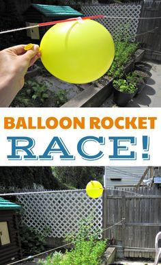 Cohete con balón