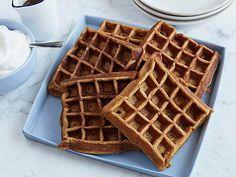 Gingerbread Waffles Recipe : Rachael Ray : Food Network