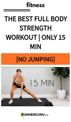 The Best Full Body Strength  Workout | Only 15 min [NO JUMPING]