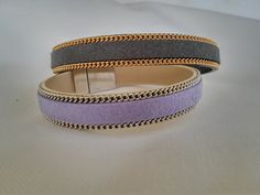 Suede Bracelet, Silver Bracelets, Gold Chains, Jewels, Trending Outfits, Unique Jewelry, Leather, Accessories, Handmade