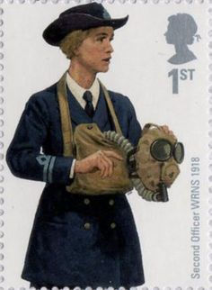 British Stamp 2009 - Royal Navy Military Uniforms Second Officer WRNS 1918