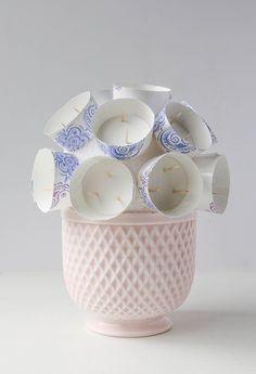 Finished Cupcake Bouquet Base