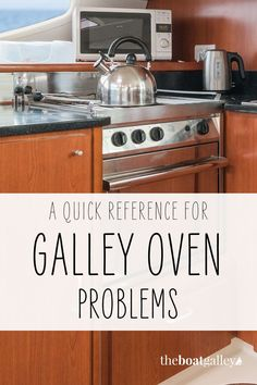 Here are some of my best tips for fixing common boat galley oven problems. Living On A Boat, Tiny Living, Cooking Tools, Cooking Recipes, Boating Tips, Keep It Cleaner, Food To Make, I Am Awesome, Oven