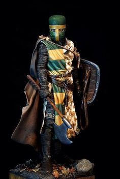 Amazing miniature knight.