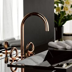 Robinetterie en bronze design