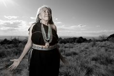 Mary Evelyn, Pueblo of Isleta, photographed by Matika Wilbur for Project 562