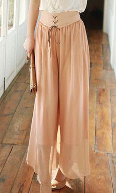 Cute Cheap Bohemian loose pants 3409 Pink - Pants Online Shopping Free Shipping