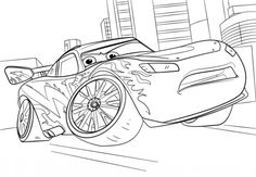 Lightning McQueen From Cars 3 Coloring Page Disney Category Select 25663 Printable