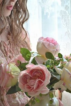 ♥ The Rose Garden ♥ ♫ romantic pink roses  .. X ღɱɧღ ||